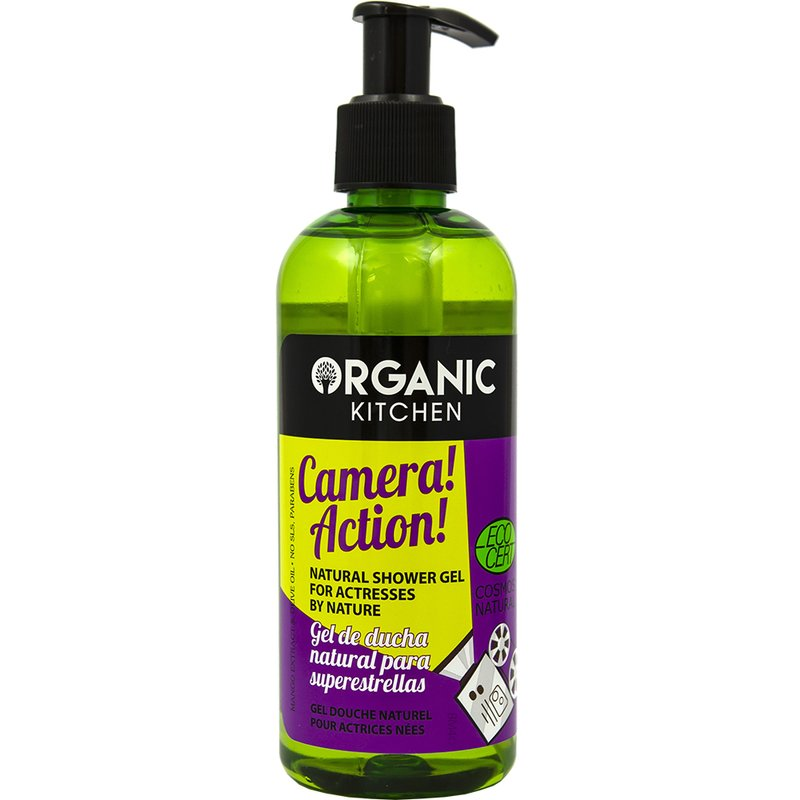 Organic Kitchen Camera! Action! Gel de dus 260 ml